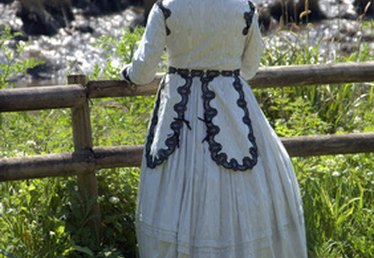 Women's Fashions in the 1800s