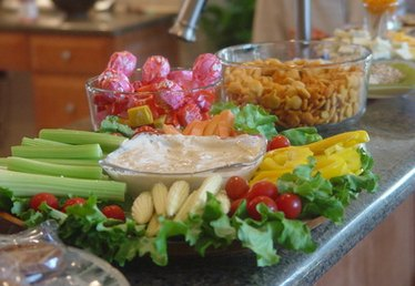Appetizer Ideas for a 50th Birthday Happy Hour