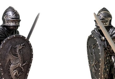 How to Make a Homemade Medieval Knight Costume