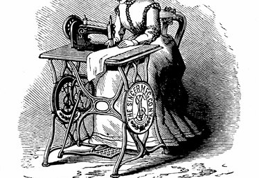 How to Disassemble a Singer Treadle Sewing Machine