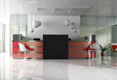How to Decorate an Office Reception Area