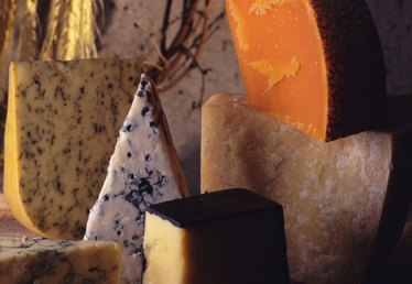 Types of Aged Cheeses