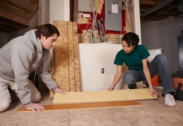 How to Correctly Install a Stair Nose When Laying Laminate Flooring
