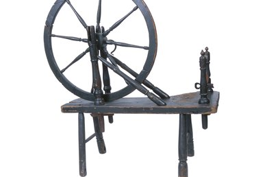 A Do-It-Yourself Spinning Wheel
