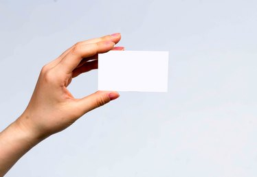 Executive Assistant Business Card Tips
