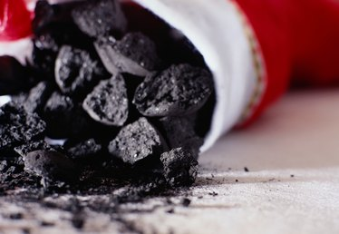Origin of Lumps of Coal for Christmas