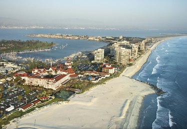 New Years Eve Celebrations on Coronado Island, California