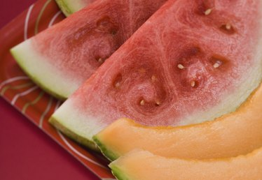 How to Cut a Cantaloupe for a Fruit Platter