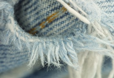 How to Fix Ripped Jeans Without a Sewing Machine