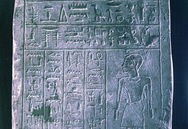 How to Make an Egyptian Hieroglyphics Tablet