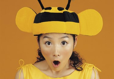 How to Make a Bee Costume T-Shirt