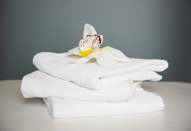 How to Get Stains Out of a Towel