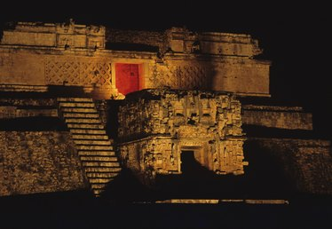 Famous Landmarks & Architecture of the Mayans