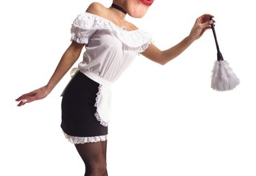 How to Make a French Maid Headpiece