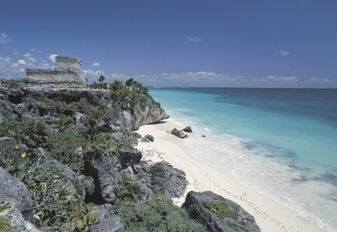 Beaches in Mexico on the Atlantic Side