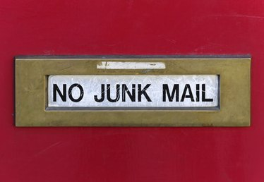 How to Return Junk Mail to the Sender