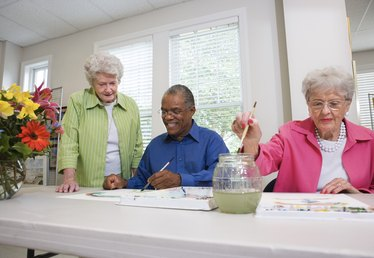 No Sew Crafts for Seniors