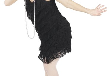 How to Make a Flapper Dress From an Existing Dress