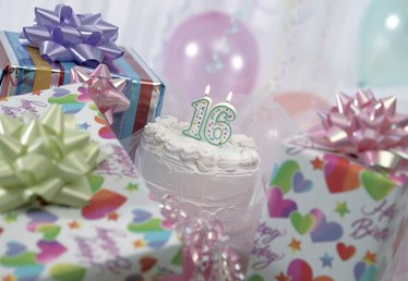 Traditional Gifts for a Sweet 16