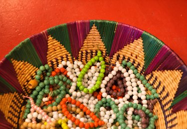 How to Make a Native American Beaded Rosette