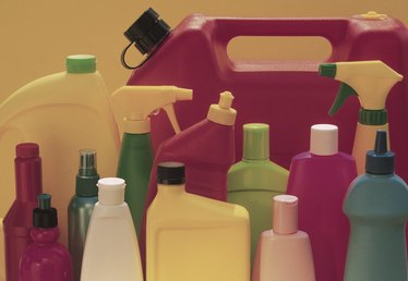 How to Dispose of Old Cleaning Products