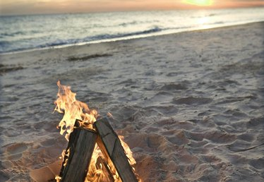 How to Start a Bonfire at the Beach
