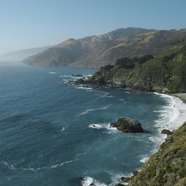 California's north coast features stunning Pacific Ocean views.