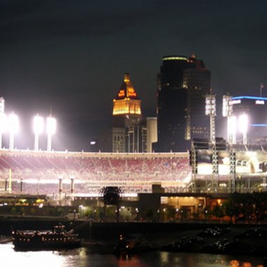 The Millennium Hotels is located near the Cincinnati Great American Ballpark.