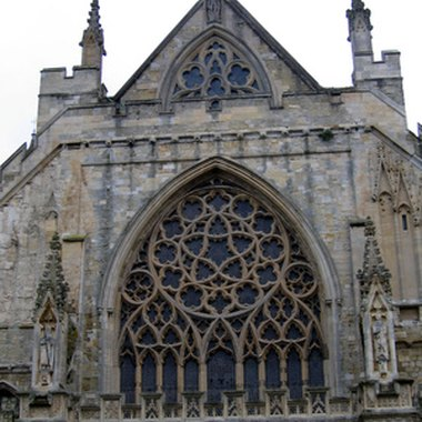 Parts of Exeter Cathedral date back to the 12th century.