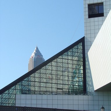 The Rock and Roll Hall of Fame is located in Cleveland's North Coast Harbor District.