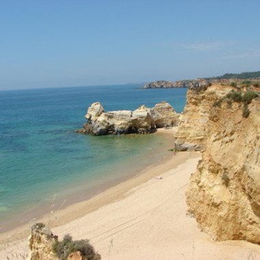 Portimao is one of the Algarve's biggest beach communities.