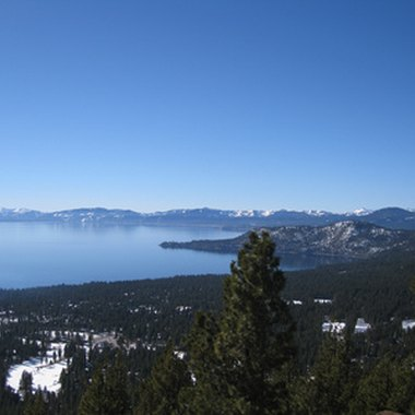 View from Incline Village on Lake Tahoe's north shore.