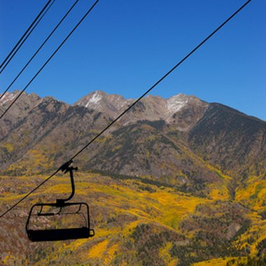 Ride the Snowbowl ski lift to the top of Mt. Agassiz any season of the year.