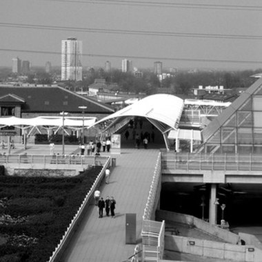 Custom House is the DLR Station for ExCeL, London's exhibition center.