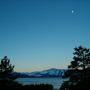 Many Lake Tahoe hotels and motels offer scenic views of the lake and nearby alpine mountains.
