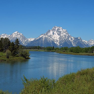 The Teton mountain range is a popular destination for climbers, hikers and outdoor enthusiasts.