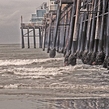 The Oceanside Pier stretches nearly 2,000 feet into the Pacific Ocean.