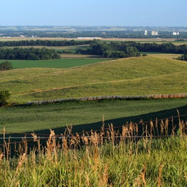 Omaha is the largest city in the farmland state of Nebraska.