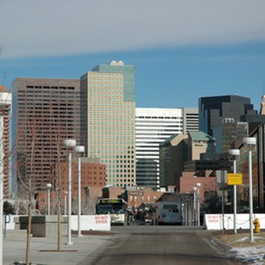 A view of downtown Denver