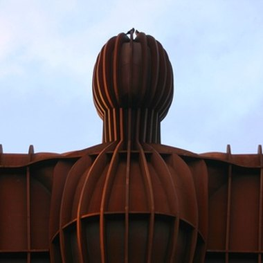 Look out for the Angel of the North monument on the way to Whitley Bay.