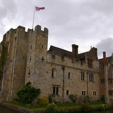 Thirteenth-century Hever Castle is one of Edenbridge's historical attractions.