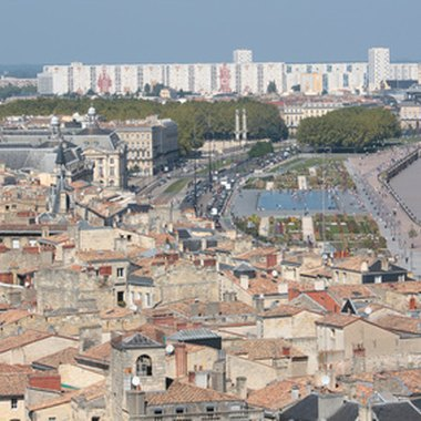 Bordeaux is a port city of some 200,000 in the southwest of France.