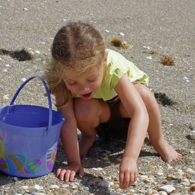 Galveston's beaches offer ample opportunity for collecting seashells.