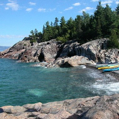 Minnesota's Lake Superior offers luxury resorts.