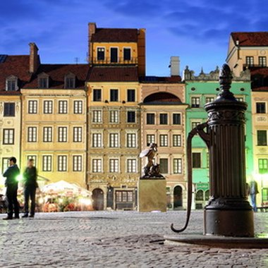 The city of Warsaw, Poland is teeming with Eastern European history and culture.