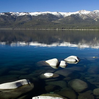 Lake Tahoe's midnight-blue waters are a perennial attraction for travelers.