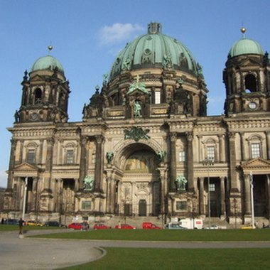 A view of the Berlin Cathedral