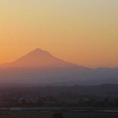 On a clear day, visitors see views of Mount Hood from Beaverton.