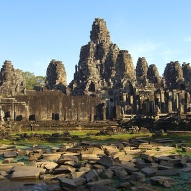 Angkor is a proverbial lost city in the Cambodian jungle.