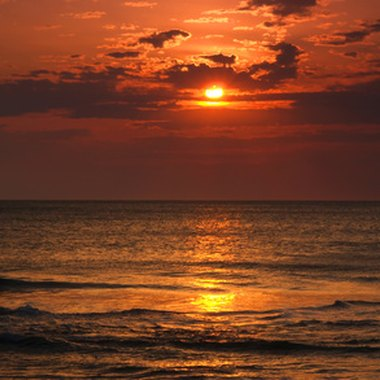Enjoy watching the sun rise from your oceanfront room in Virginia Beach.